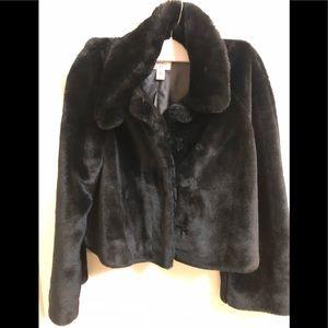 Ann Taylor LOFT Faux Fur Jacket
